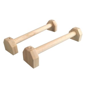 Fitness Push-Up Stands Bars Sport Gym Exercise Training Chest H Shaped Wooden Calisthenics Handstand Parallel Bar Double Rod Y200506