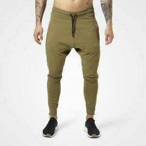 Mens Athletic Elastic Waist Pants Solid Color Pantlones Designer Zipper Decorative Beam Pants Joggers Sweatpants Clothing for Men Track Pant