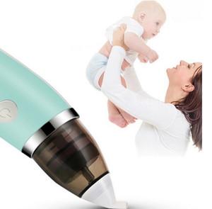 Nuevo aspirador Nasal de bebé limpiador de nariz higiénico seguro eléctrico para el cuidado del bebé punta de la nariz Oral Snot Sucker para aspirador infantil recién nacido CY95-1