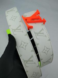 2018 del cuero auténtico diseñador de Italia correas de alta calidad liso de la hebilla de la correa de cuero grandes cinturones hebilla para Hombres Mujeres Jeans ocio Cinturones