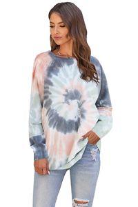Dhl Free For Pajamas Tiedye For Girls Pigiama Da Donna Per Girocollo Tye Dye Short Purple Light Oversized Tie Dye Shirt Action new