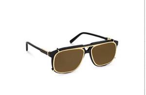 Nouveau styliste de mode lunettes de soleil 1085 double optique carrée double optique détachable et lunettes de soleil style