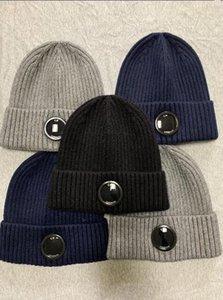 Free heißer Verkauf Top Qualität neueste Mode Marke CP Herren Strickhut Designer Gläser Sporthut Damen Casual Warm