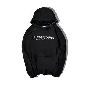 Notre-Dame de Paris Mens Hoodies Fashion Design New Hip Hop Sweatshirts For Men Women Hooded Hoodies