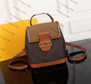 Hight Qualität Damen-Rucksack echtes Leder Kinder Rucksäcke Frauen Druck Leder Fashion Mini Rucksack 44391