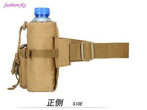 Hot Outdoor Vertical tactical waist bag multi-purpose Messenger Bag Travel cycling kit sports men's and women's water cup sets