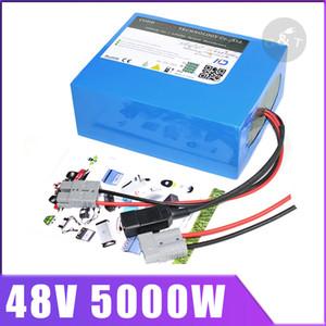 48V 60AH 40AH 30AH 2000w 3000w 4000w bici elettrica della batteria 48V litio pacco batterie agli ioni 48V scooter batteria con il caricatore 54.6v