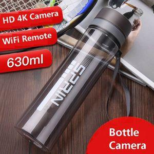 Nueva tarjeta de memoria directa grabación Control de cámara de alta calidad de la taza del agua de tiempo de grabación de la cámara inteligente al aire libre de mini alrededor de 2,5 horas de alta definición