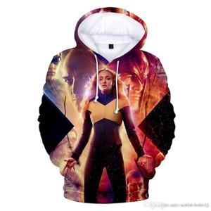 Primavera Homens Mulheres 3D Impresso Designer hoodies Halloween Cosplay Hoodie X Hoodies homens