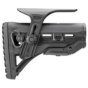 Тактический пластиковый капельный сменный приклад AR-15 с регулируемым стояком щеки Mile Spec Carbine Stock идеально подходит для всех MIL-SPEC
