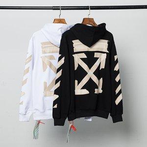 Hommes concepteur hoodies de mode automne et en hiver nouvelle version européenne d'abricot flèche graffiti imprimé chandail