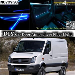 NOVOVISU für VW Crafter Volt LT3 Innen Ambient Light Tuning Atmosphäre Glasfaser-Licht-Tür-Panel-Beleuchtung