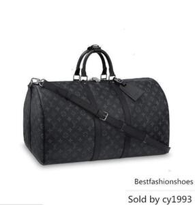 Keepall 55 Bandouli Cat Re M40605 Men Messenger Bags Shoulder Belt Bag Totes Portfolio Briefcases Duffle Luggage