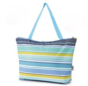 Folding Shopping Bag Repeatable Waterproof Storage Bags Portable Large Capacity Picnic bags Oxford Cloth Storage bag FJ578