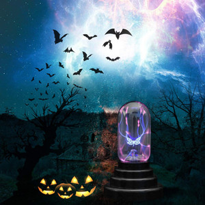 BRELONG papillon électrostatique Ion Magic Ball USB Nuit Light Touch Sensing Party Decoration Light 1 pc