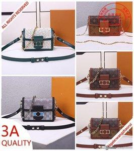 MINI DAUPHINE Designer Shoulder bags M44580 Messenger bag M55454 CrossBody bag Evening bag Commuter bags women wallet with box