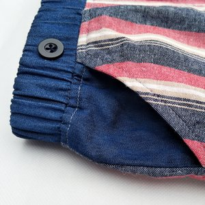 Summer shorts for baby girl boys clothes jeans cotton Stripes Kids Shorts Pants 2019 new style for children boy clothes