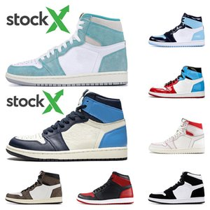 2020 Auf X-Männer Basketballschuhe 1s TURBO GREEN Twist Obsidian UNC Fearless PHANTOM 1 Rückwand PHANTOM GYM RED Sportturnschuhtrainer