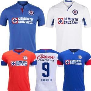new 2019 20 Cruz Azul away white T-Shirt MARCONE BACA ALVARADO Mexikanisches LIGA MX HOME BLAUES FUSSBALLJERSEY MONTOYA GIMÉNEZ BEST