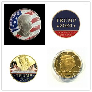 2020 Donald Trump Souvenir moneta da un dollaro fare le monete in America Great Again metallo Figura Crafts Stati Uniti d'America elezioni generali Merce prodotto vendite E3409