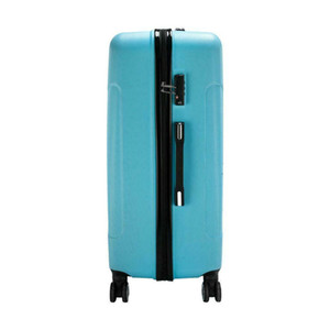New 3PCS Lage Travel Set Bag ABS Trolley Hard Shell Suitcase w TSA lock Blue