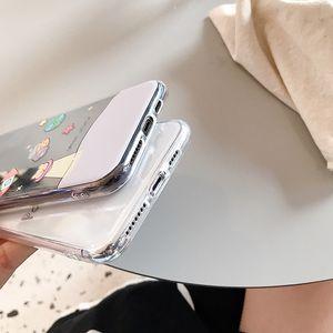Cute cartoon bear clear phone Cases for Huawei P20 P30Lite Mate 20Pro 30 Nova 3 4 5Pro 5i Honor 8X 9X 10 20 V20 Y9 2019 Cases