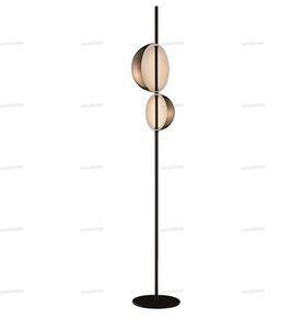 modern Led Floor Lamps Nordic Simple Designer Living Room stand light Double Horn Radar Bedside Lamparas decor Lighting Fixtures