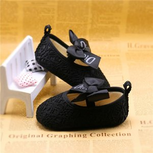 2020 Shiny baby princess shoes baby shoes soft bottom non-slip single shoes 0-1 years old spring summer autumn