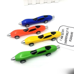 newNovelty Car Pen Boys Sports en plastique Voitures Modeling stylos à bille Stylos pour enfants Jouets cadeaux écriture école Fournitures Stylos Mignon