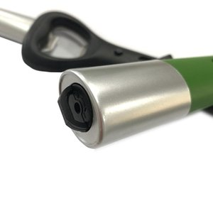 N3 in 1 multifunzionale del butano accendino a gas stufa di metallo da cucina a gas Accenditore con LDE illuminazione e Bottle Opener funzione per la sopravvivenza esterna