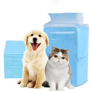 DHL envío pets Perros Gatos súper absorbente del pañal perro de formación Pee almohadillas desechables saludable pañal Calchotenas gatos perros FY7024