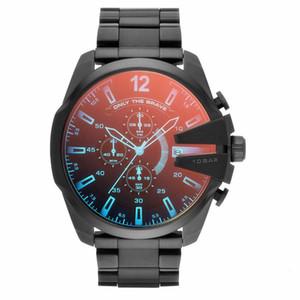 2019 alta dos homens da qualidade Sport Watch DZ Luxo Mens Relógios mostrador grande diesel Relógios reloj militar relogio esportivo DZ4318 DZ4323 DZ7370