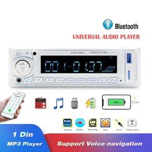 8600 차 라디오 1din 에서 돌진 Autoradio FM/Bluetooth/SD/USB/MP3 멀티미디어 선수 원격 제어 12V4 수로 산출 Autoradio