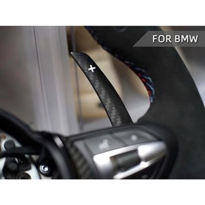 DRY CARBON FIBER BATTLE VERSION STEERING WHEEL SHIFT PADDLES for BMW F / G Chassis Vehicles