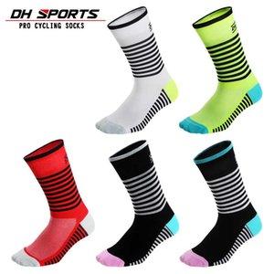 DH SPORTS Professional Cycling Socks Brand Protect Feet Breathable Sock Outdoor Road Bike Nylon Racing Socks DH09