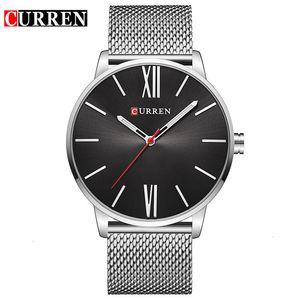 새로운 스틸 손목 방수 초박막 석영 남성 표면의 열이 자동 캐주얼 기계 남자를 판매 가져와 2019 마스터 손목 시계 시계