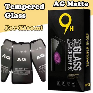 AG Mat Gerçek Kavisli temperli cam Film Ekran Koruyucu Güvenlik İçin Xiaomi Mi 9 SE 8 Lite Mix 3 F1 redmi Not 7 6 Pro 6A Git S2 K20 mı Kutusu