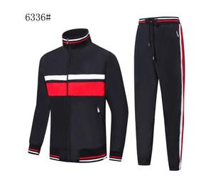새로운 악어 프랑스어 남성 디자이너 운동복 편안한 의류 재킷 남성 가을 겨울 따뜻한 재킷 스포츠 칼라 옷