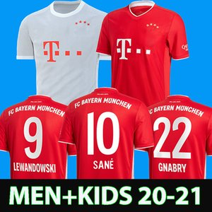 20 21 Camiseta de fútbol Bayern Munich SANE LEWANDOWSKI PAVARD 2020 2021 camiseta de fútbol HERNANDEZ DAJAKU camisa de futebol hombre niños maillot de pie