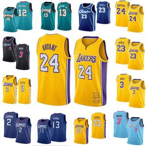 2020 NCAA 12 Ja Morant Dwayne Wade 3 23 Lebron Jersey 2 Leonard 13 George Jackson JR. Jersey de la universidad de baloncesto