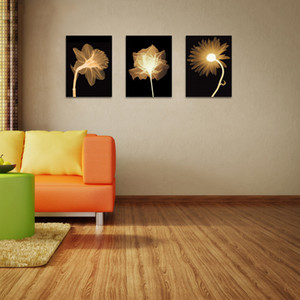 Modern European and American Abstract Decorative Flower Sofa Background Wall Hanging Mural Living Room Frameless Painting