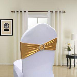 Atividade Trade Flor Strap Estofo Partido Stamping Elastic Presidente tampa traseira Bow Decor Cadeira Coberta Decoração HHA985