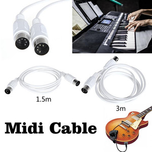 1.5 3M Electric Piano MIDI Line Music Editing Line Double-Head Five Needle Connecting Wire Electronic Organ Thread