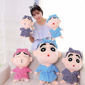 Super cute Grande bambola giocattolo peluche 35 centimetri / 55cm / 75cm / 95 centimetri / 120 centimetri Shinchan ripiene bambola migliore commercio all'ingrosso regalo di compleanno coppia regalo per bambini
