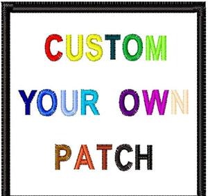 Top Quality personalizzati Patch fai da te tutti i tipi di ferro sulle zone per i vestiti adesivi personalizzati ricamati svegli Patch Applique zdl0224.