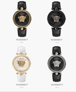2020 nuevas señoras del diseñador lujo sencillo reloj de cuero de cuarzo vestido rojo negro Montre femme relojes de señora reloj Reloj Mejor Regalo De Mujeres