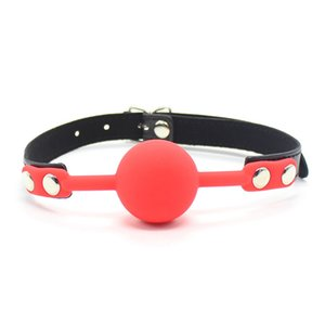 Sweet Magic Silicone Ball Mouth Gag Oral Fetish Slave Restraints BDSM Bondage Roleplay Costumes Accessory Gag Erotic Toys Adult Game