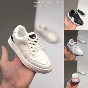 Chinatown Pazar Çocuk sneaker Bebekler Çocuklar Siyah Altın Beyaz Eğitmenler Ralph Sampson Düşük Sneakers Erkek spor ayakkabı Ayakkabı Koşu x