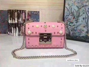 5A 447632 24cm Marmont küçük Matelaz omuz çantası, Toz torbası Seri Numarası Box, Ücretsiz Kargo Gel