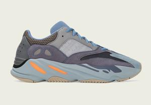 2020 Yayın Originals 700 Karbon Mavi FW2498 Koşu Ayakkabı Erkekler Kadınlar Kanye West Dalga Runner Katı Gri V2 Statik Mıknatıs Otantik Spor ayakkabılar
